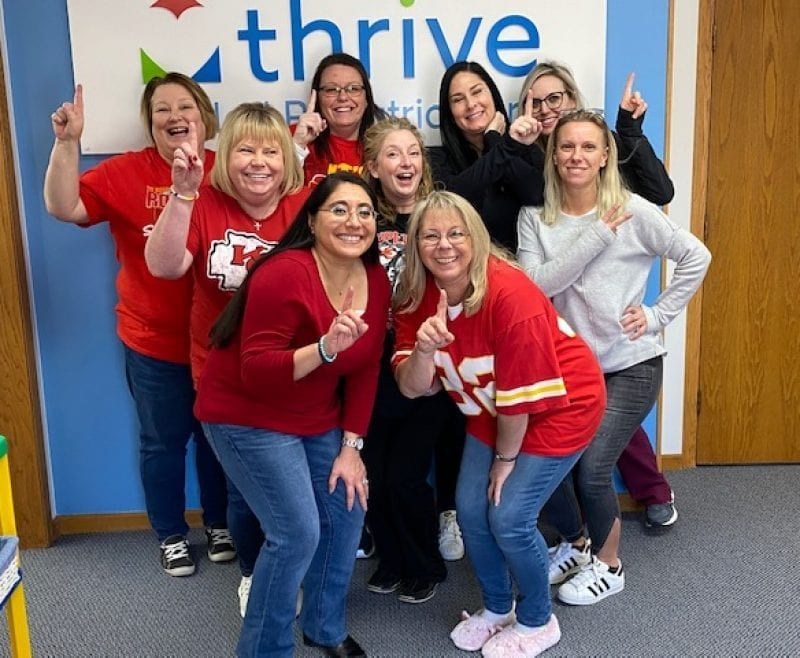 The Thrive SPC team in Wichita, KS