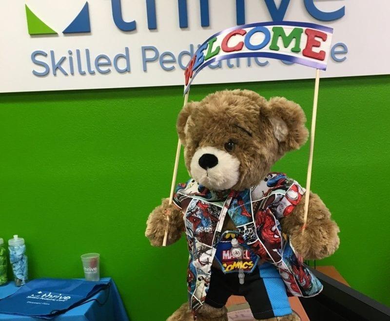 teddy bear at thrive kingman location