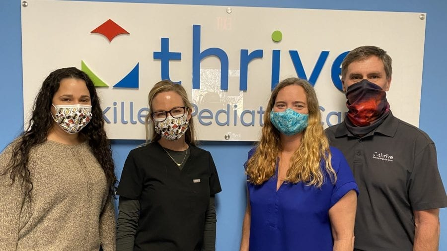 Some of the Thrive SPC team in Charlottesville, Virginia