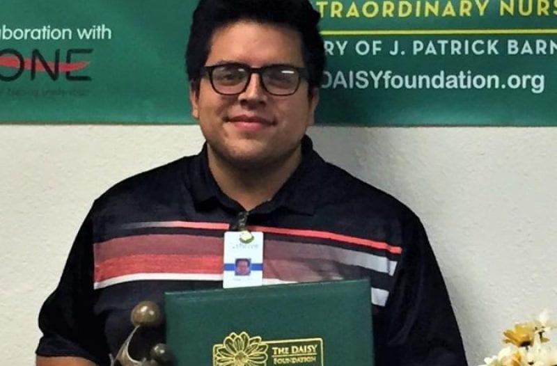 nurse adam daisy award winner