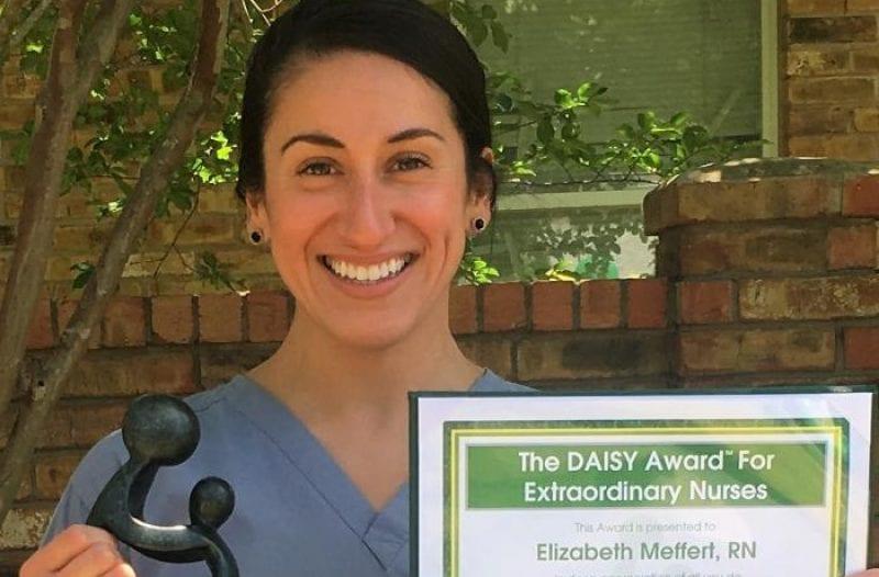 Elizabeth daisy award q1 2017