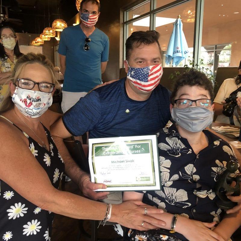 nurse michael daisy award winner