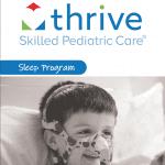 The cover of Thrive SPC's Sleep Program brochure
