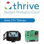 The cover of Thrive SPC's Home IPV Therapy equipment brochure