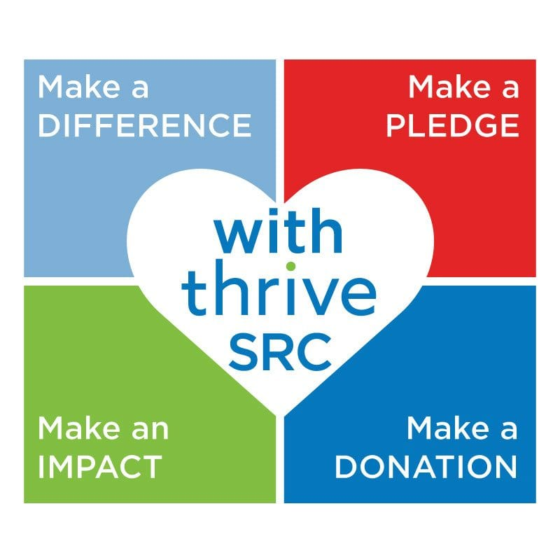 thrive social responsibility committee logo