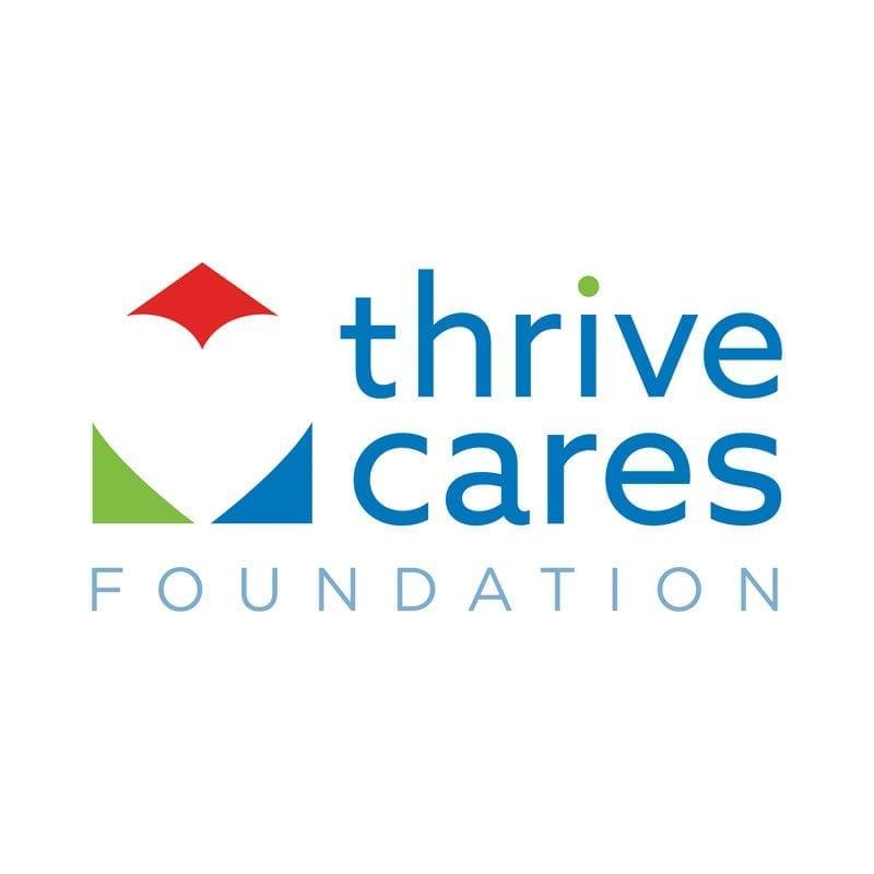 thrive cares logo